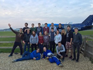 Bristol University Skydiving Club – This isn't flying, it's